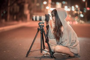 use a tripod for slow shutter speed